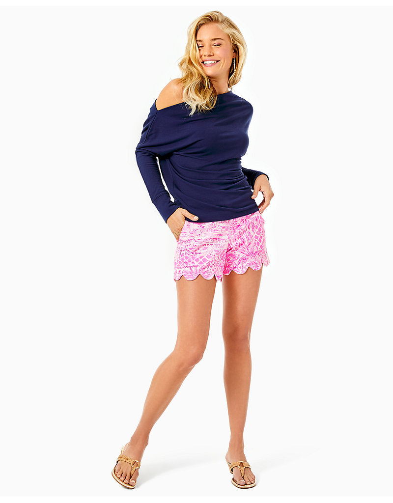 LILLY PULITZER S21 004768 BUTTERCUP STRETCH SHORT