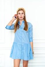 theshirt The drop waist shirt dress
