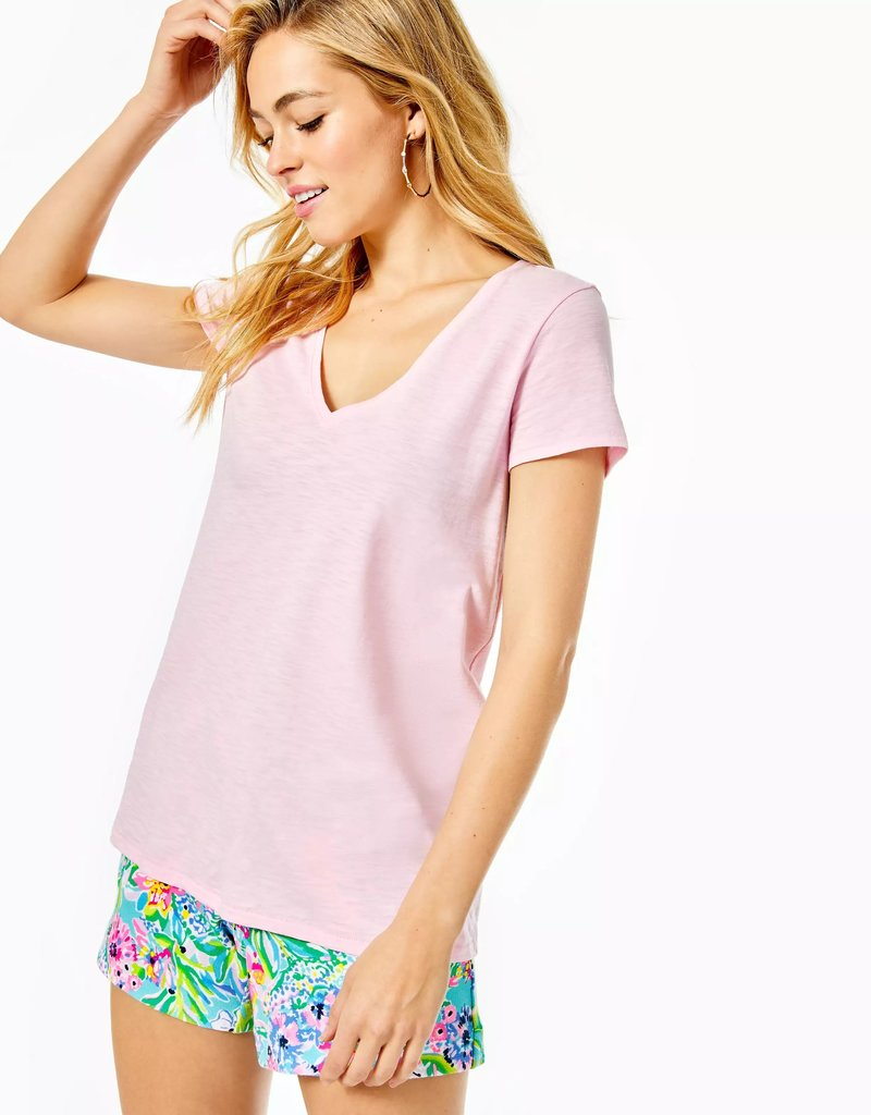 LILLY PULITZER s21 001504 etta v neck