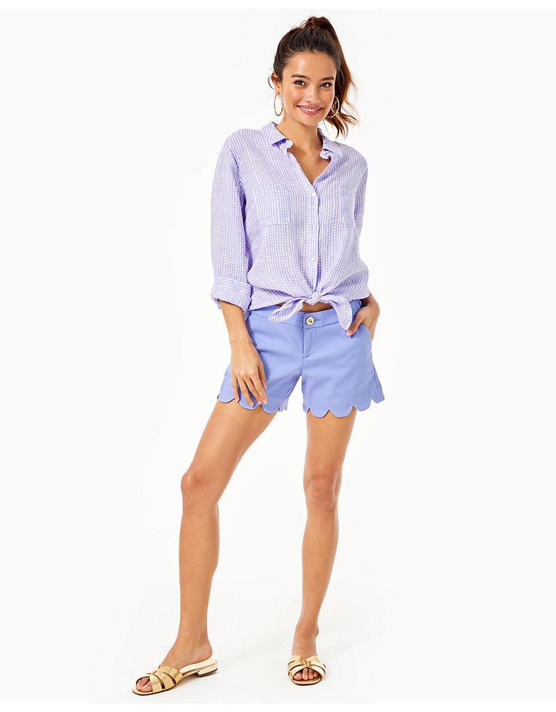 LILLY PULITZER S21 002294 BUTTERCUP STRETCH SHORT