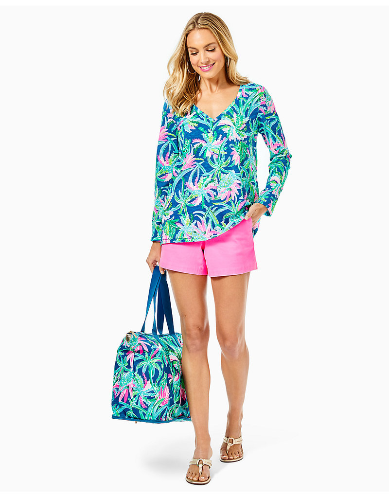 LILLY PULITZER S21 004730 ETTA LONG SLEEVE TOP
