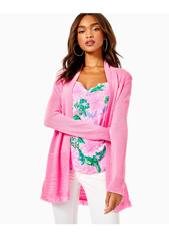 LILLY PULITZER NOBLE CARDIGAN