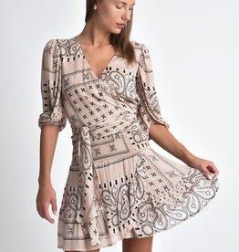 Muche et Muchette Lolita bicolor print ruffle skirt