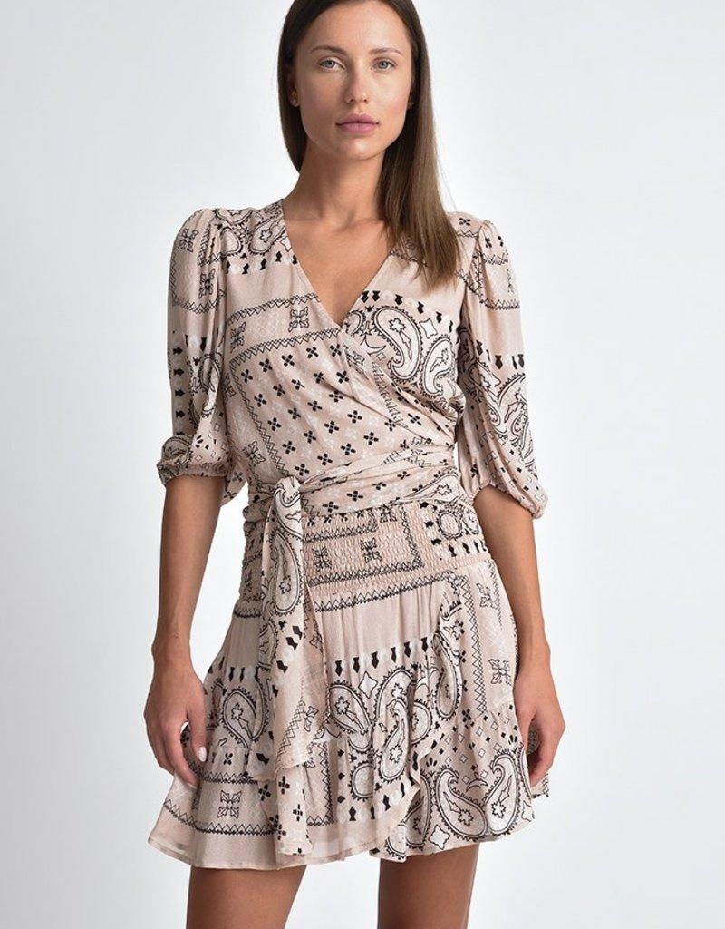 Muche et Muchette 1090lx lolita bicolor print ruffle skirt