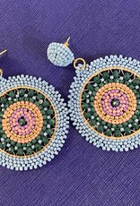 OLIPHANT positano earring blue/green