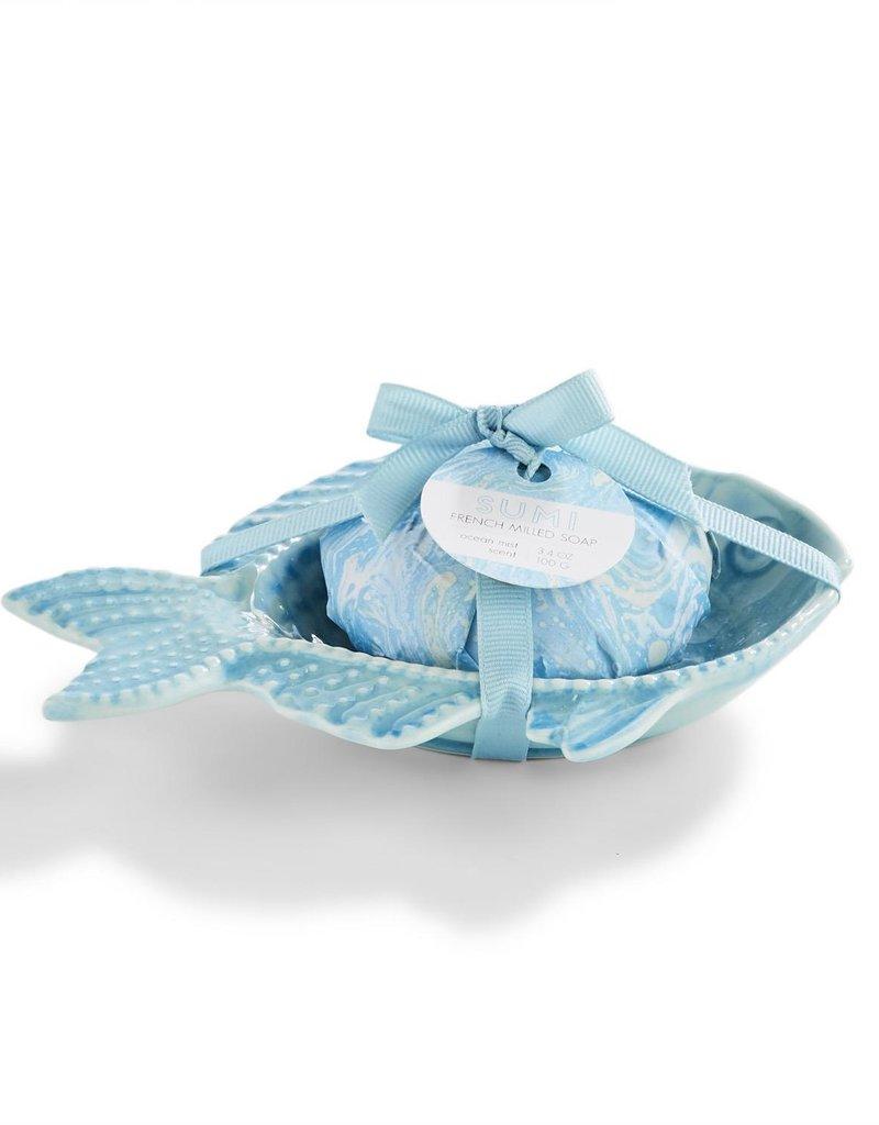 TWO'S COMPANY 53247 Fish soap
