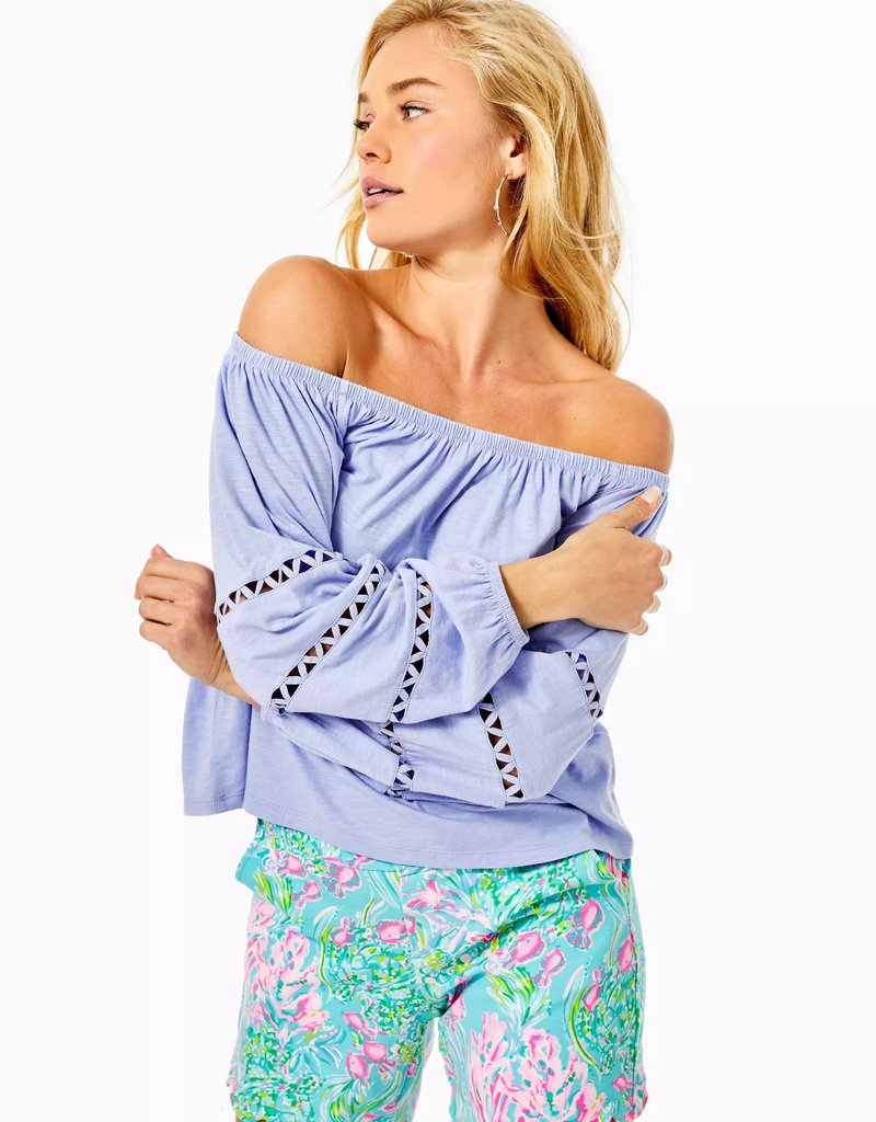 LILLY PULITZER S21 005486 KATT TOP
