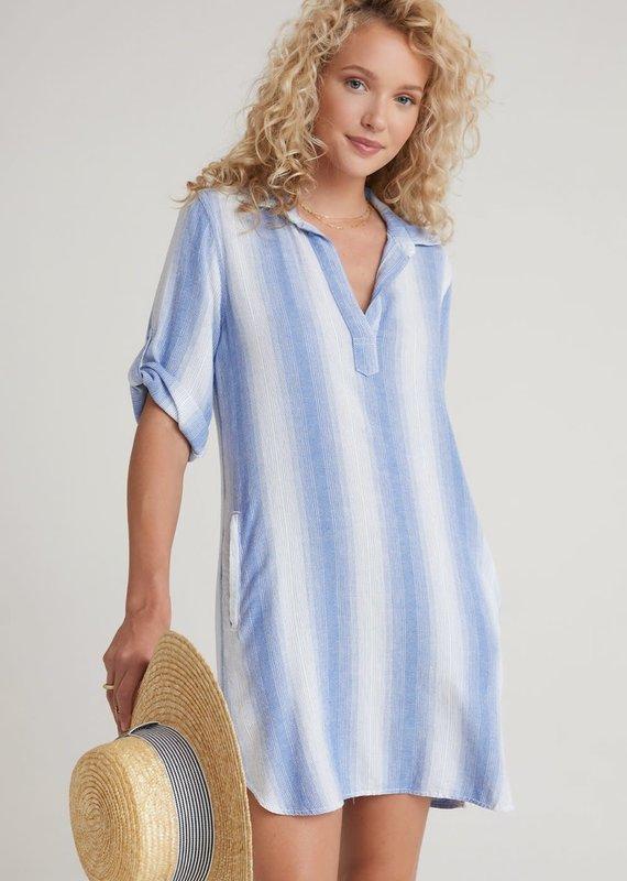 b6582 a-line shirt dress