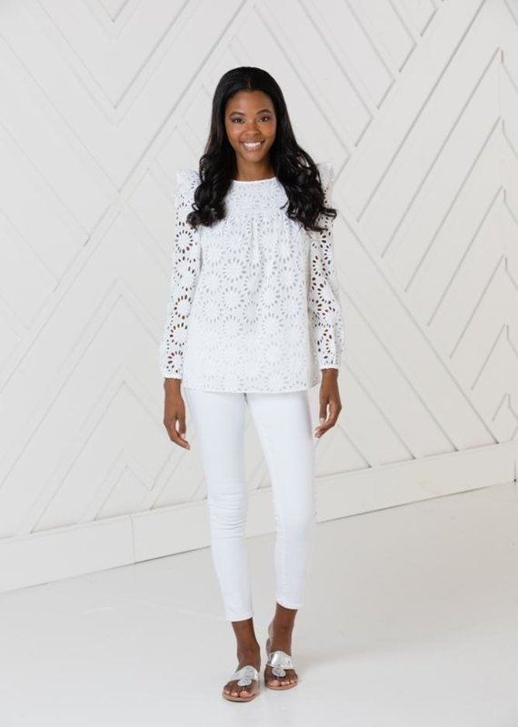 SAIL TO SABLE LONG SLEEVE TOP