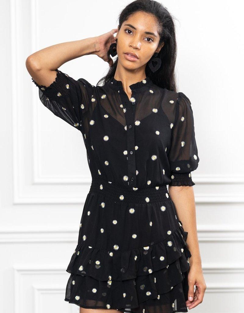 theshirt The ruffled mini dress