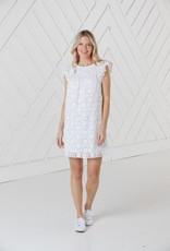 SAIL TO SABLE SP2134 Flutter Sleeve dress
