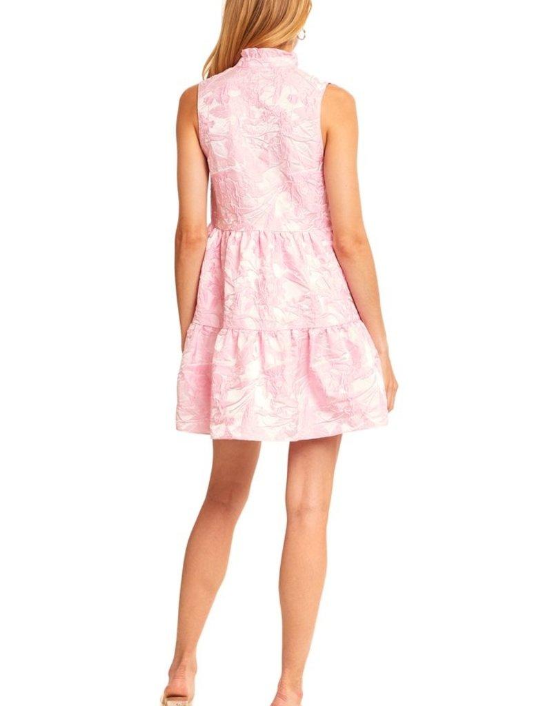 AMANDA UPRICHARD pi-20966 sleeveless saffron dress