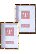 TWO'S COMPANY 51446l rose gold frame 5 x 7