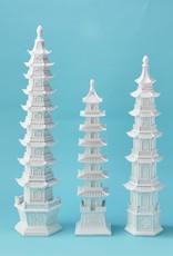 TWO'S COMPANY 53017m white pagoda medium
