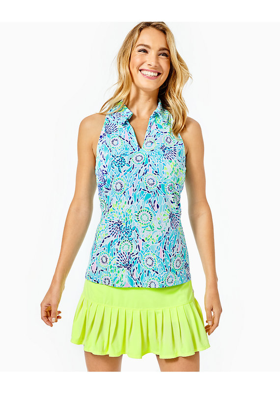LILLY PULITZER LAKELYN BRA POLO UPF 50+
