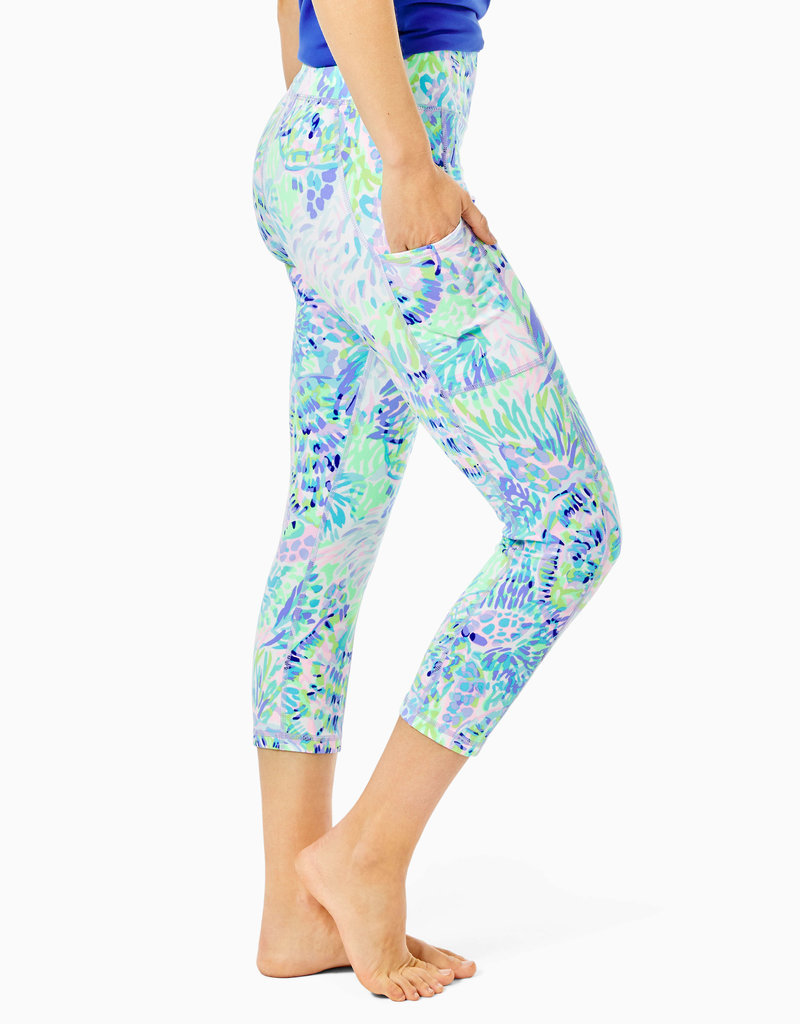 LILLY PULITZER S21 004682 WEEKENDER HIGH RISE CROP