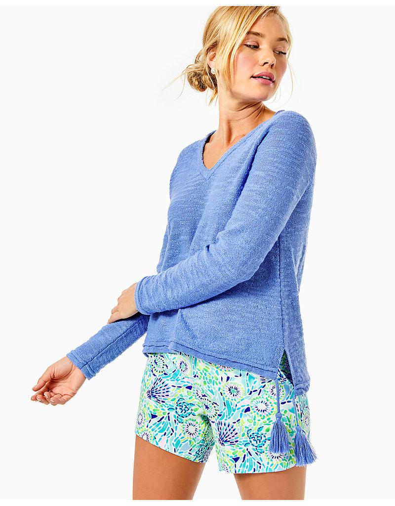 LILLY PULITZER S21 007933 JODY VNECK SWEATER
