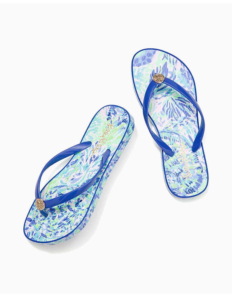 LILLY PULITZER S21 004315 POOL FLIP FLOP