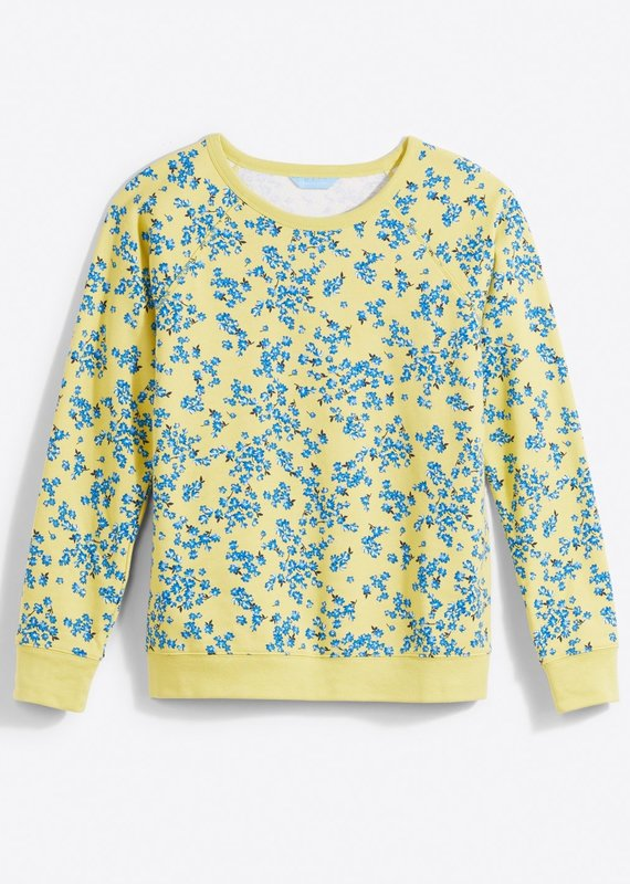 DRAPER JAMES Natalie Sweatshirt in Cherry Blossom