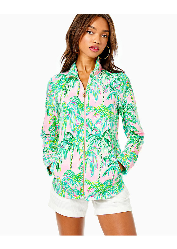 LILLY PULITZER LEONA UPF 50+ ZIP-UP