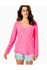 LILLY PULITZER S21 007985 ETTA LONG SLEEVE TOP