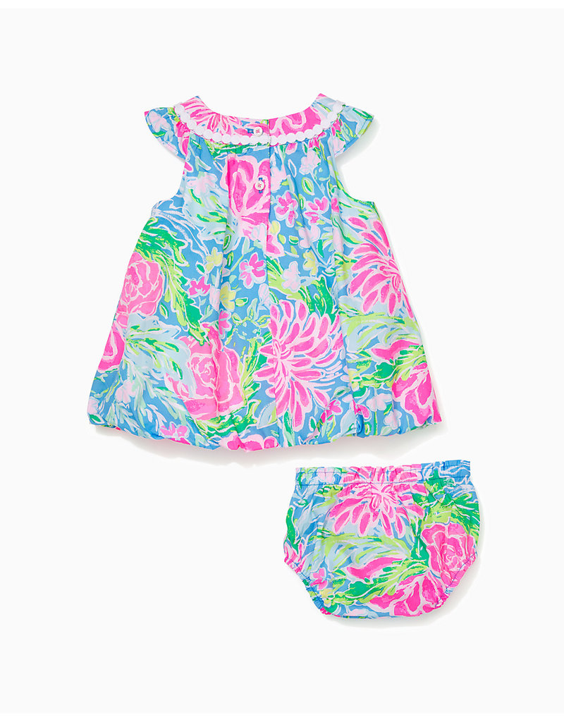 LILLY PULITZER S21 007740 BABY PALOMA BUBBLE DRESS