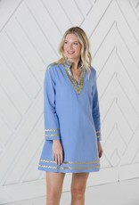 SAIL TO SABLE sp21v001s Long Sleeve tunic dress