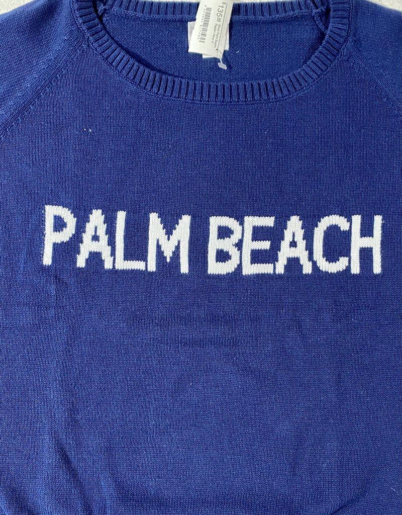 pink pineapple Block Palm Beach Raglan