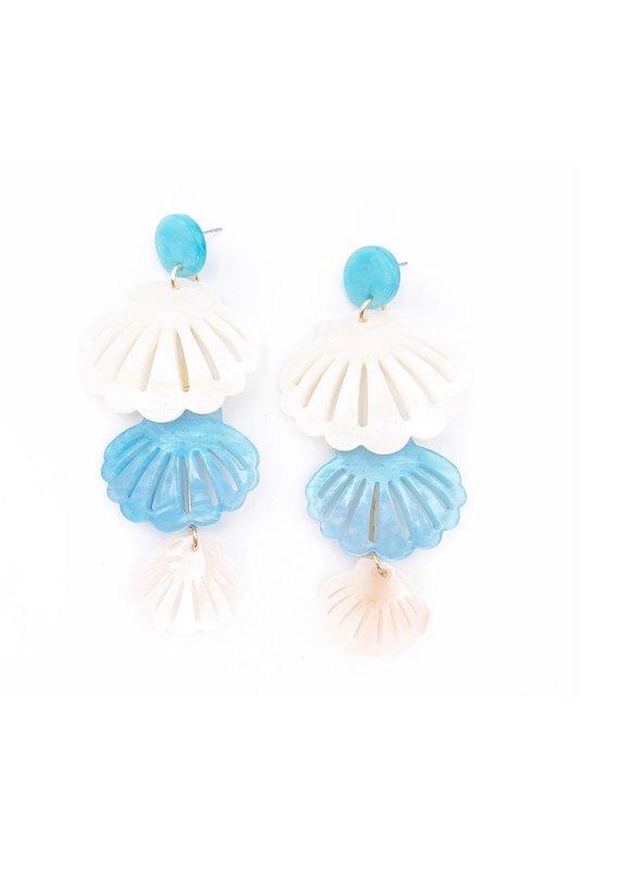 Triple shell blue
