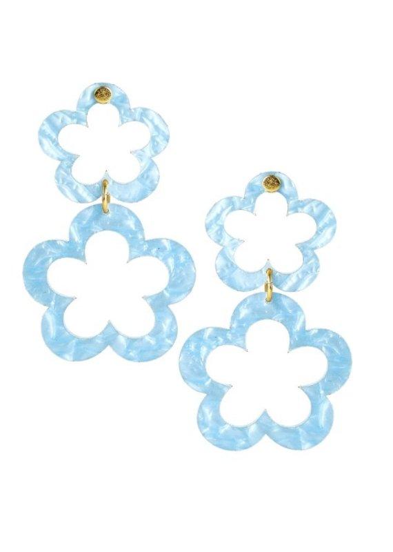 LISI LERCH janie acrylic blue