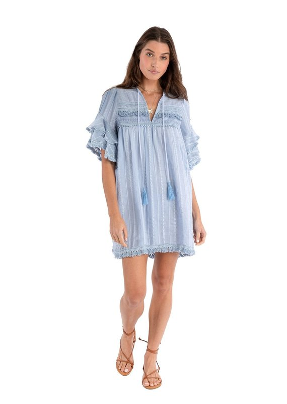 allison NY Embroidered Dress