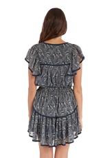 allison NY SA21004JA tiered mini skirt