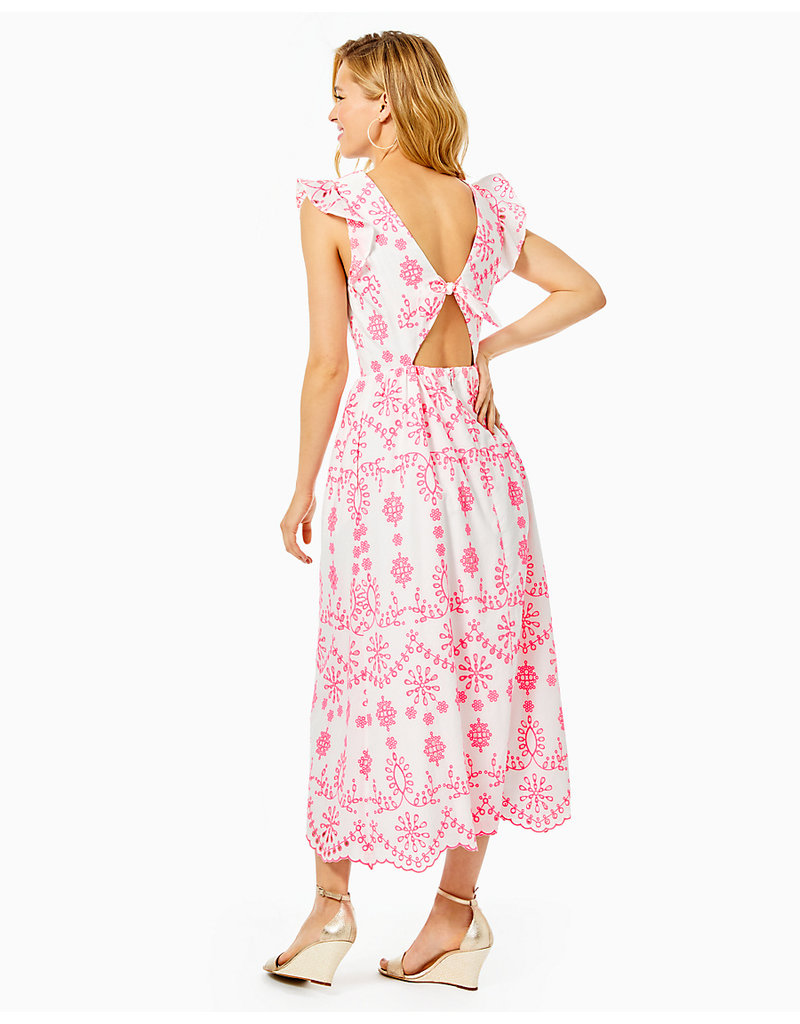 LILLY PULITZER S21 007988 LILLYANNE MIDI DRESS
