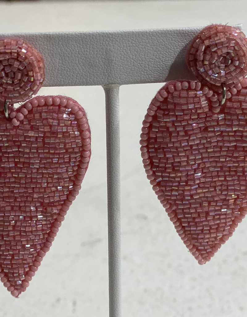 PREPPY GIRL pink point hearts
