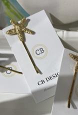 CB Designs starfish hair clip