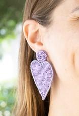 PREPPY GIRL lavander point hearts
