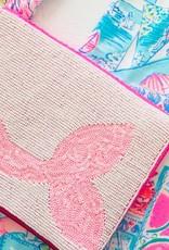PREPPY GIRL mermaid tail beaded bag