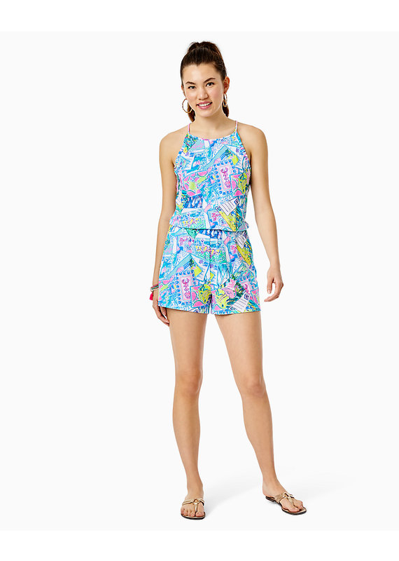 LILLY PULITZER DAYLEY ROMPER