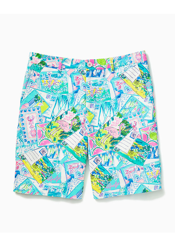 LILLY PULITZER MENS BEAUMONT STRETCH SHORT