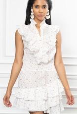 theshirt The sleeveless ruffle mini dress