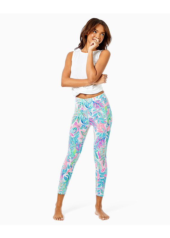 LILLY PULITZER WEEKENDER HIGH RISE MIDI UPF50+