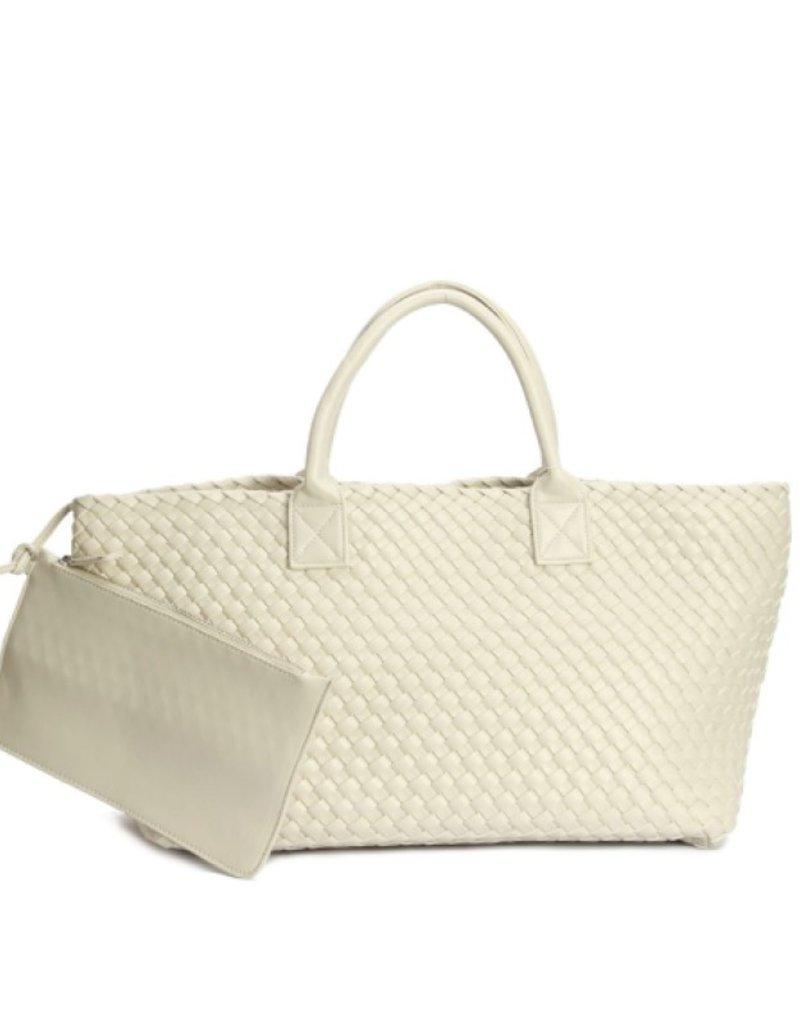 PREPPY GIRL Market bag White