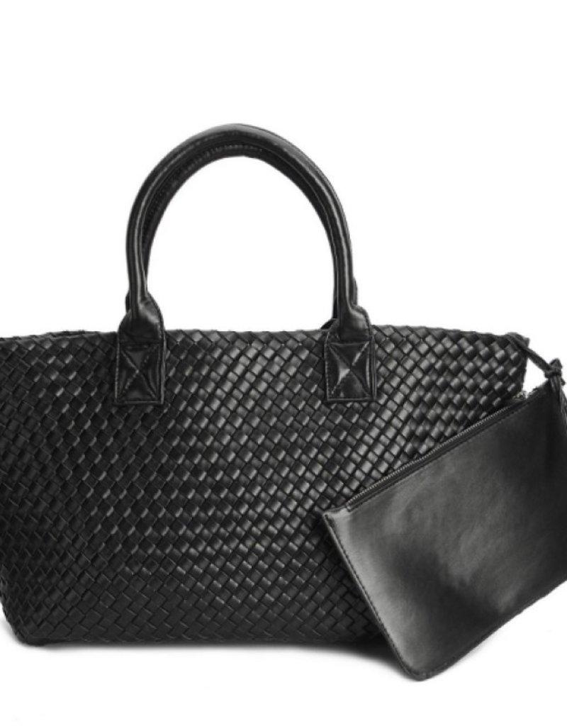 PREPPY GIRL Market bag Black