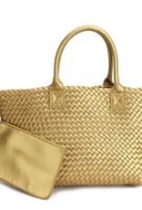 PREPPY GIRL Market bag Gold