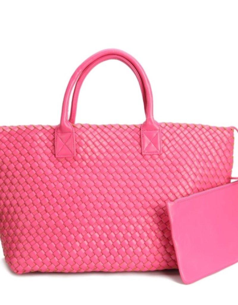 PREPPY GIRL Market bag hot pink