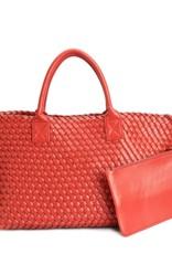 PREPPY GIRL Market bag Red