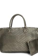 PREPPY GIRL Market bag Silver Grey