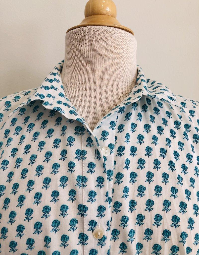 ro's garden deauville shirt dress