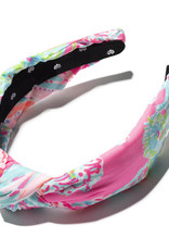 LILLY PULITZER 009155-606372  KNOTTED HEADBAND SEEING THINGS