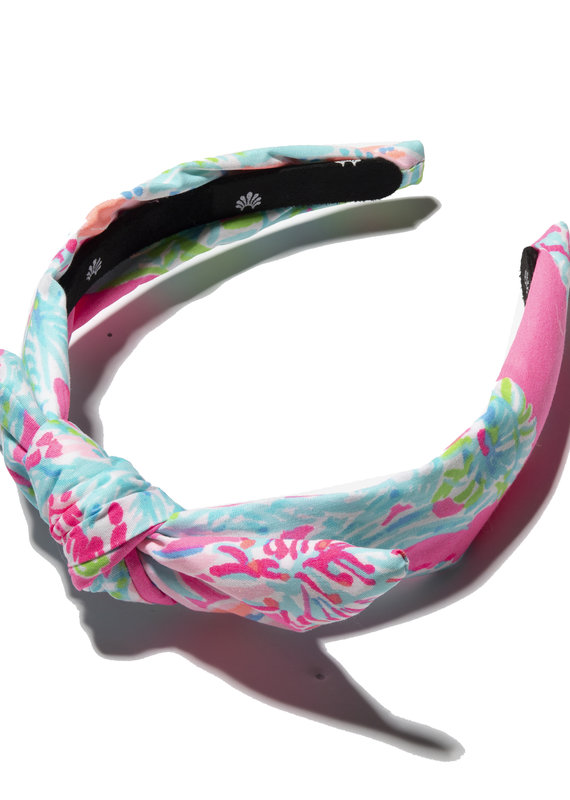 LILLY PULITZER KIDS KNOTTED HEADBAND SEEING THINGS